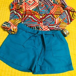The Limited tweed shorts sz 10 EUC